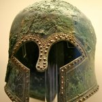 Helmet in the Olympia Museum