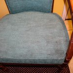 stained chair in room