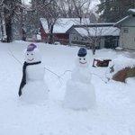 Snowman & Snowwoman