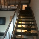 Ramada Plaza West Hollywood - Loft view looking up stairs to bedroom