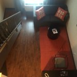 Ramada Plaza West Hollywood - Loft view downstairs living room
