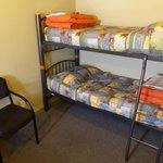 Tiki Lodge - beds