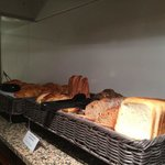 lots of breads to choose from
