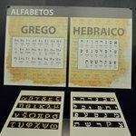 Alfabeto de Grego e Hebraico