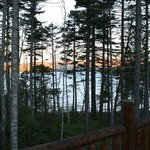 Loon Lodge Deck View