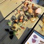 Gems found in dirt