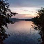Der Blick vom Balkon auf den Griebnitzsee