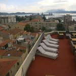 View from the terace of the hotel