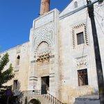 Фасад мечети.