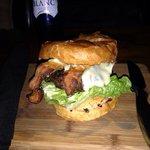 The Q burger