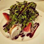 Caprese Salad was filling and the mozarella was fresh as could be