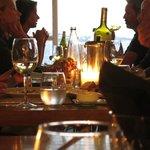 Dinner at Kastros, little Venice, Mykonos