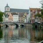 Local canal bridge