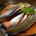 旬な秋刀魚