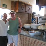 Me and the owner Fabio