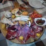 L'antipasto: sapori d'Umbria!