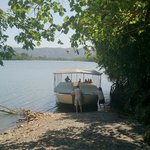 Boat ride on the Daintree River in search of Crocs
