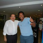 President Daniel Ortega Chance Meeting. More Than Way too Cool!!!