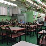 Mamma Gina Dining area
