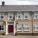 The front of the house , facing the beautiful dingle bay and harbour.