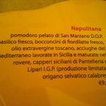 menù napuletana