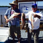 Capt Mike showed us a helluva great time fishing! Would recommend him to anyone