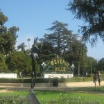 Beverley Hills Park and Signage