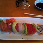 Rainbow sushi if I remember well...delicious