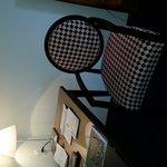 cute chair in room