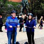 Loving the segwaying in Kraków :)