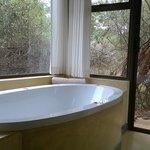 Luxurious bath with a wonderful view