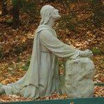 One statue on the Gospel Walk