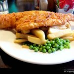 Haddock and Chips :) :)