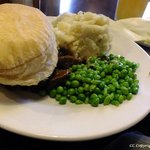 Steak Pie and Mash