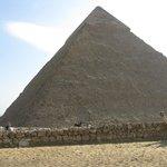 Pirámide de Kefren. Vista