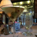 Top Shelf Dirty Martini