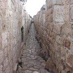 View along the ramparts near Jaffa Gate