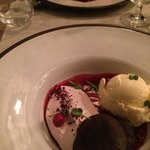 Wery tasty desserts with poetry-sounding descriptions in menu. Tasted like real art should taste