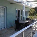 Generous Private Terrace