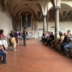 Riccardo Benni con il Club Subacqueo Artiglio al Convento di San Marco