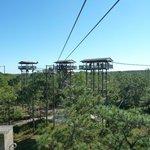 More zipline towers