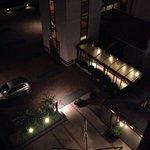 Vista di notte dal quarto piano