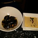apps - mussels + soup