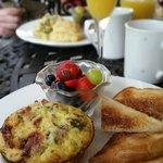 Breakfast souffle