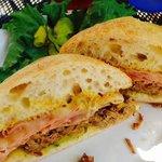 Scrumptious Cuban sandwich