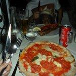 The best pizza 'Diavola'