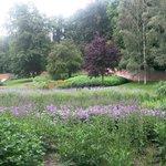 De diepe tuin in Park Sonsbeek