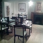 Ask for the quiet dining area at the front of the restaurant.