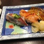 Some tasty bits of sushi