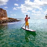 Awesome paddle boarding experience!